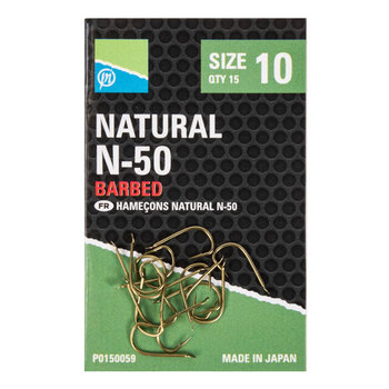 Preston Innovations Natural N-50 Barbed
