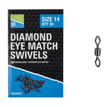 Preston Innovations Diamond Eye Match Swivel