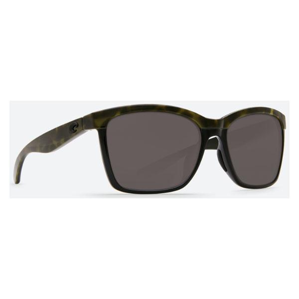 Costa Del Mar Anaa - Shiny Olive Tortoise On Black Frame 580P