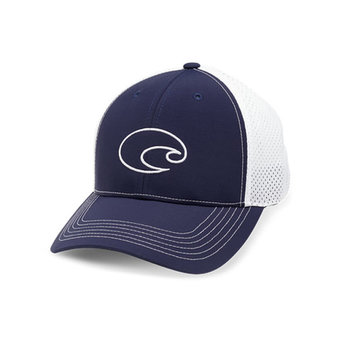Costa Del Mar Structured Performance Trucker Hat Navy