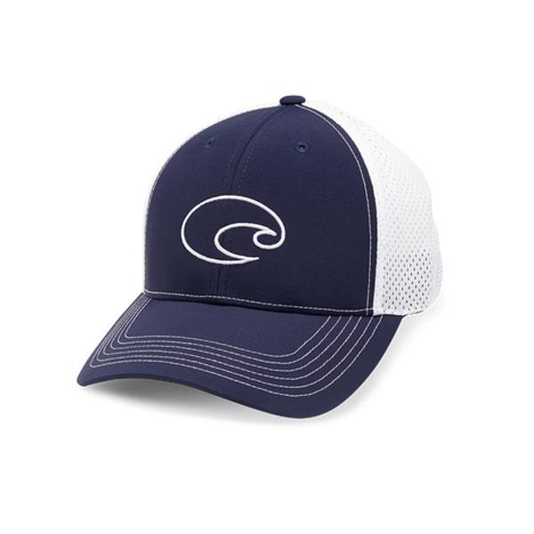 Costa Del Mar Structured Performance Trucker Hat Navy