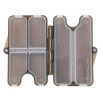Korum Clamshell Box - 6 Compartment
