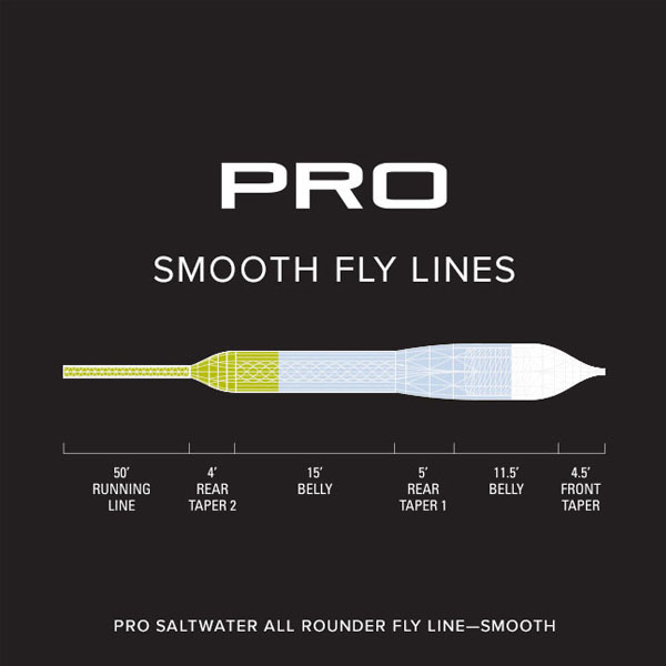Orvis Pro Saltwater All Rounder Lines - Smooth