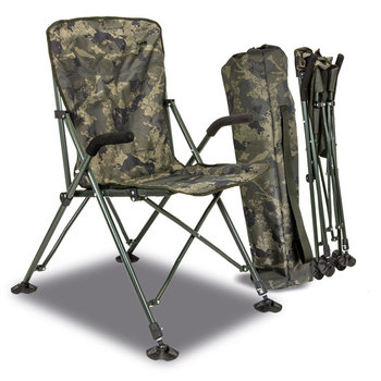 Solar Undercover Camo Foldable Easy Chair - High