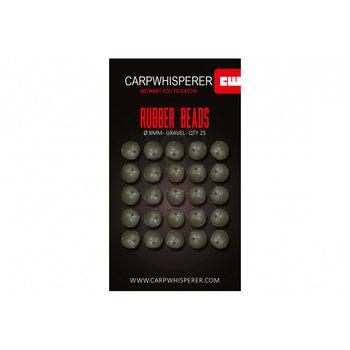 Carp Whisperer Rubber Beads