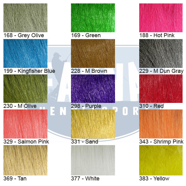 Hareline Dubbin Extra Select Craft Fur