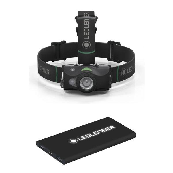 LED Lenser MH8 Hoofdlamp + Powerbank