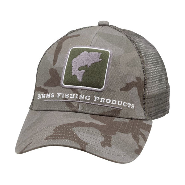 Simms Bass Icon Trucker Hat