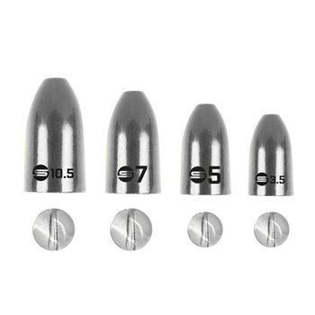 Spro Freestyle Tungsten Bullet Sinkers