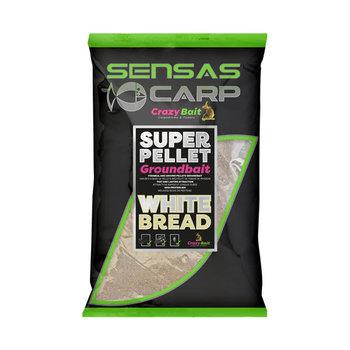 Sensas Crazy Bait Super Pellet Groundbait - White Bread