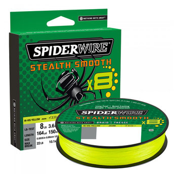 Spiderwire Stealth Smooth8 Hi-Vis Yellow