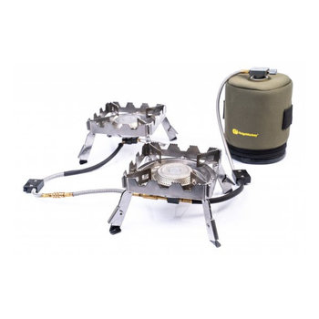 RidgeMonkey Quad Connect Stove Pro Full Kit