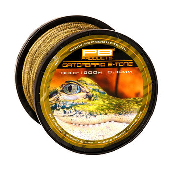 PB Products Gator Braid 2-Tone