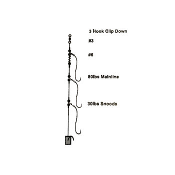 Cox & Rawle 3 Hook Clipdown Rig