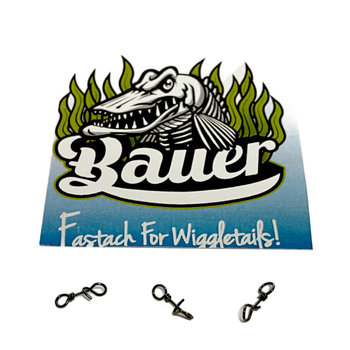 Fly-Dressing Bauer Pike Fastach For Wiggletails