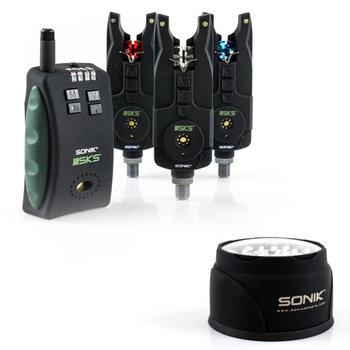 Sonik SKS Alarm Set + Bivvy Lamp