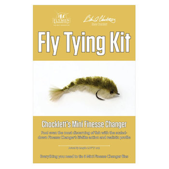 Flymen Fly Tying Kit - Chocklett's Mini Finesse Changer