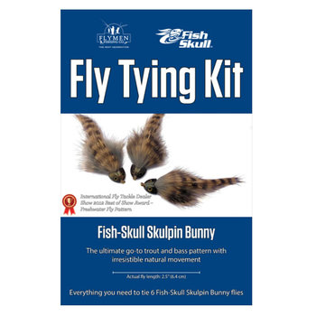 Flymen Fly Tying Kit -  Fish-Skull Skulpin Bunny