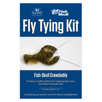Flymen Fly Tying Kit - Fish-Skull Crawdaddy