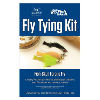 Flymen Fly Tying Kit - Fish-Skull Forage Fly