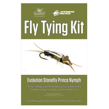 Flymen Fly Tying Kit - Nymph-Head Evolution Stonefly Prince Nymph