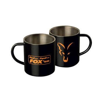 FOX Stainless Black Mug