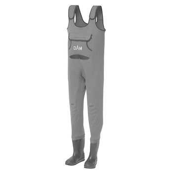 DAM Dryzone Neoprene Chest Waders Cleated