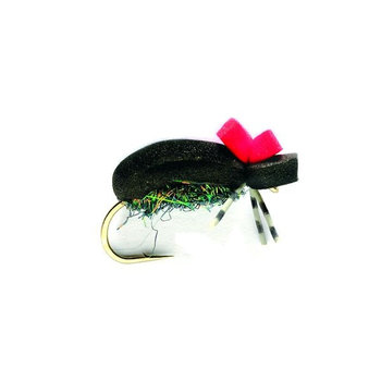 Fulling Mill Hi-Vis Black Foam Beetle