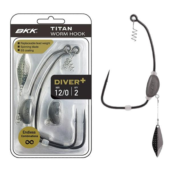 BKK Titan Diver+ Worm Hook