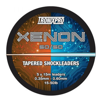 Tronixpro Xenon Tapered Leaders 50/50