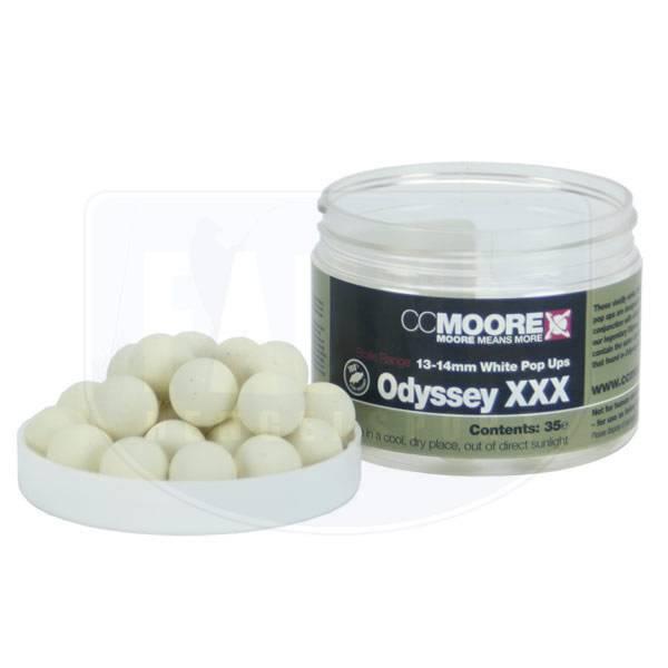 CC Moore Odyssey XXX White Pop-Ups