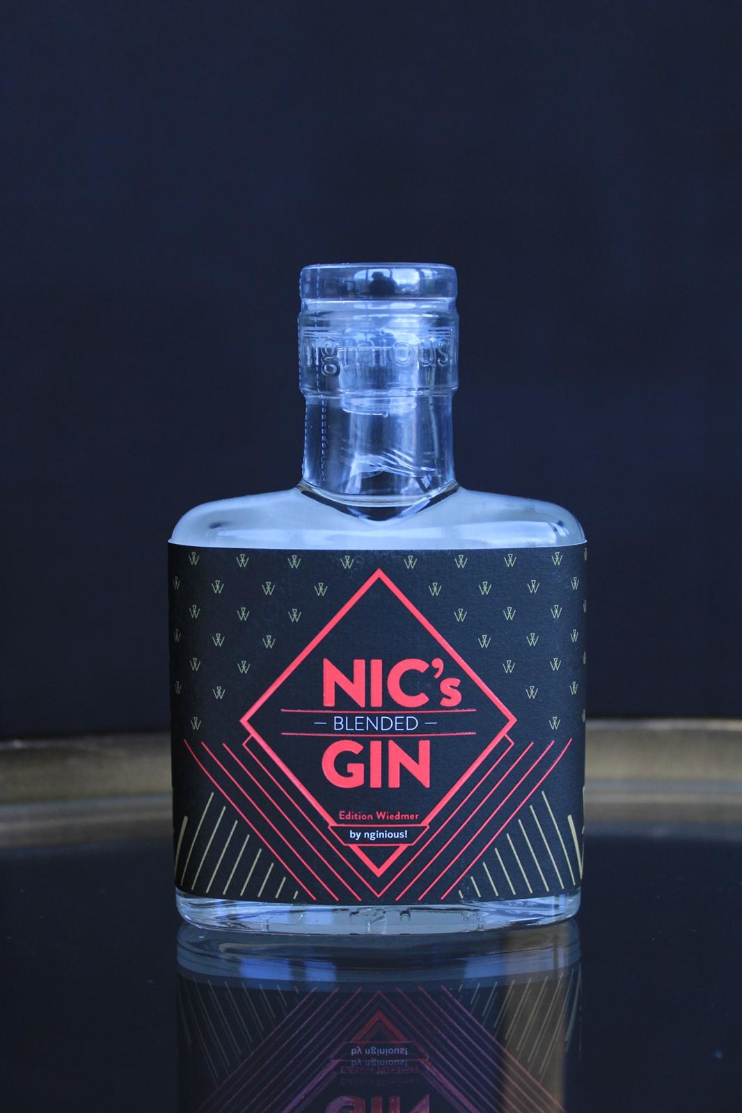 nginious! NIC's blended GIN by nginious! - Mini