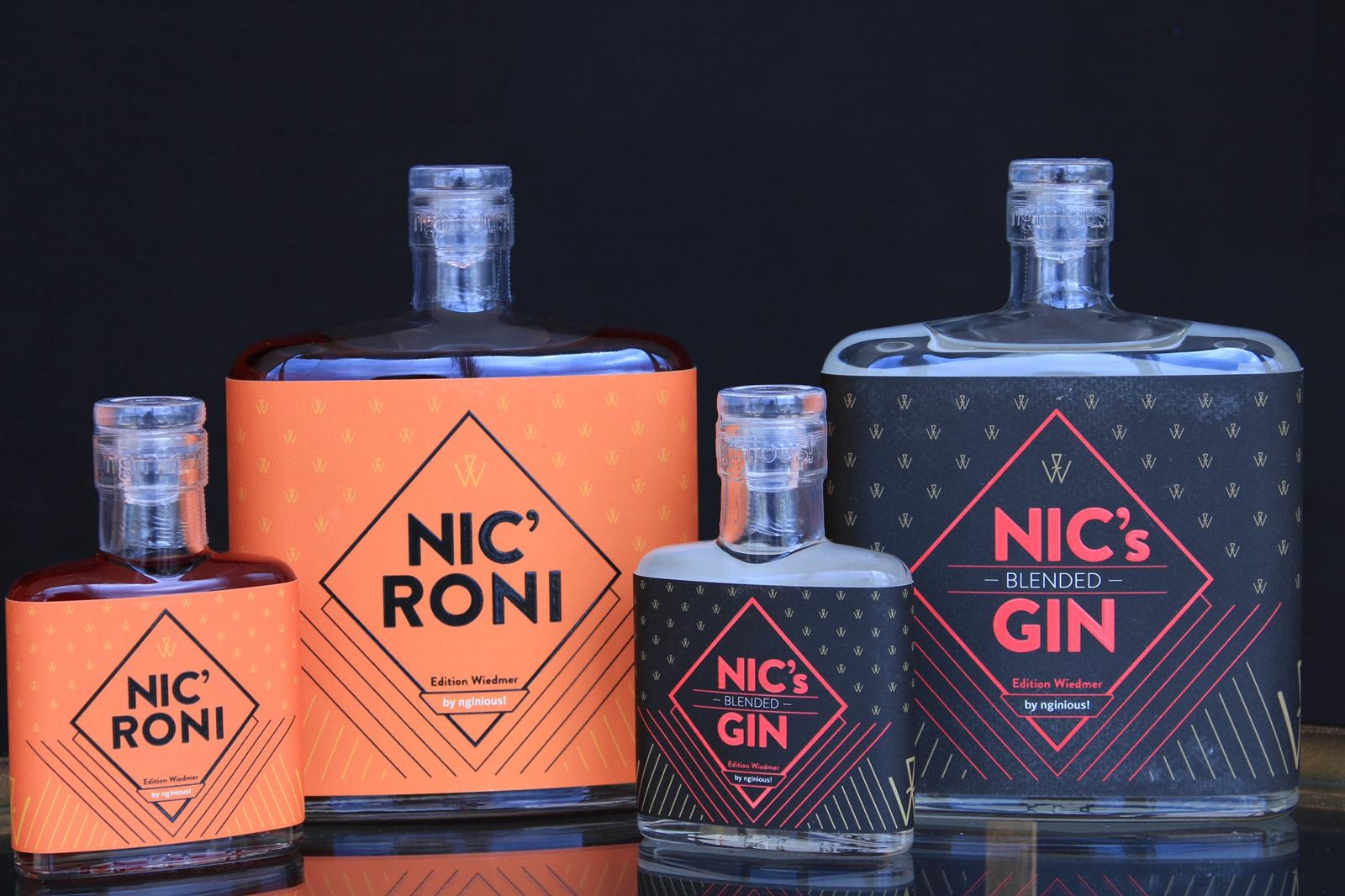 nginious! NIC's blended GIN by nginious!