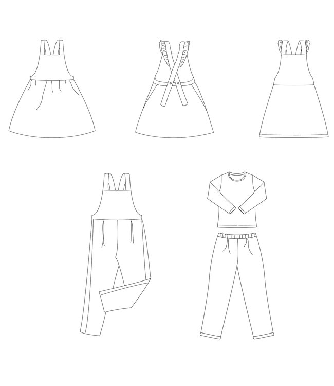 Bel'etoile - Willa jumpsuit en jurk