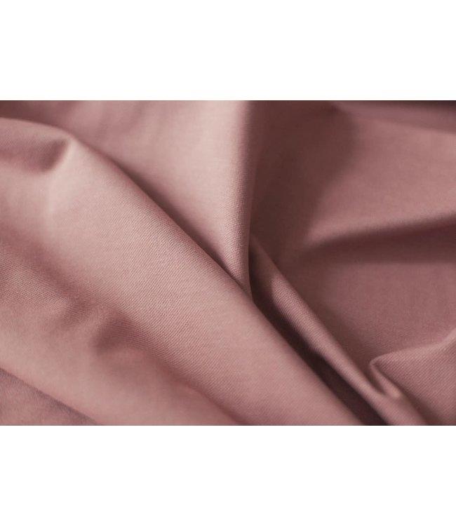Denim tricot - oud roze