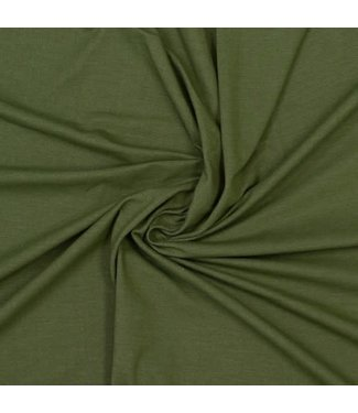 Denim tricot - olijf