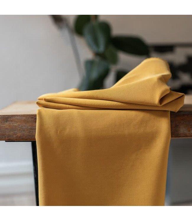 Soft stretch twill - amber