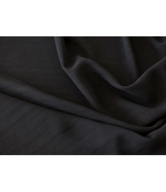 Voile - transparant zwart
