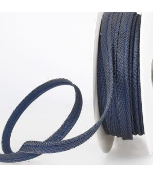 Paspel - lurex blauw