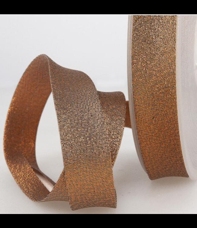 Biais - lurex brons