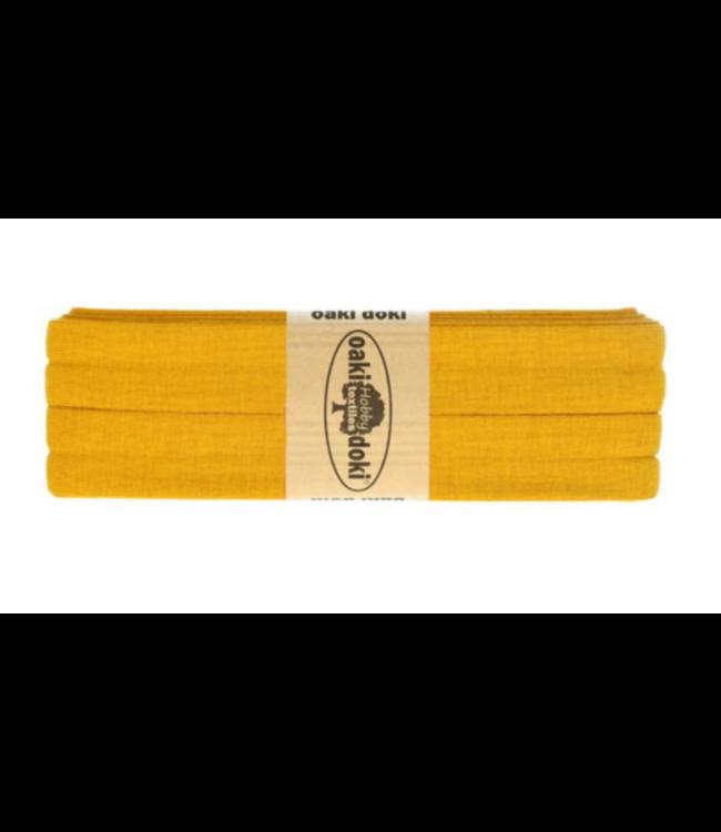 Biais rekbaar - mosterdgeel 950