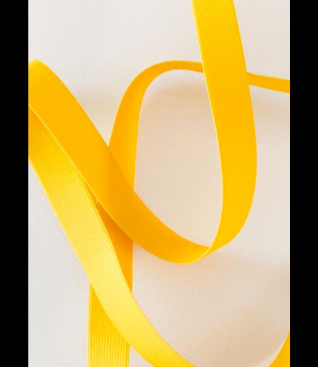 Elastiek 25 mm - geel