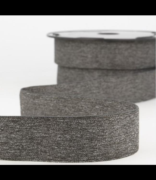 Boxershort elastiek - grijs melée