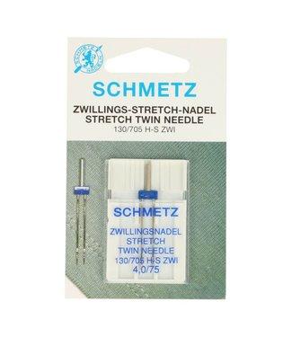 Schmetz Tweelingnaald stretch 4.0