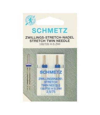 Schmetz Tweelingnaald stretch 2.50