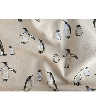 Linnenlook canvas - pinguins