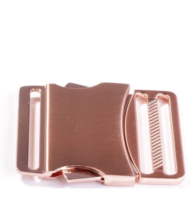 Klikgesp 40 mm - rosé