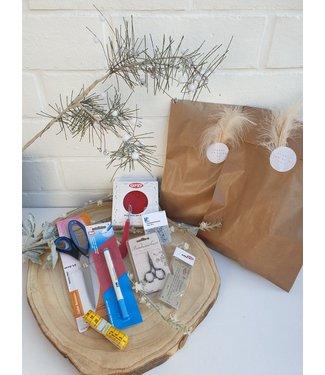 Pakket voor de naaister