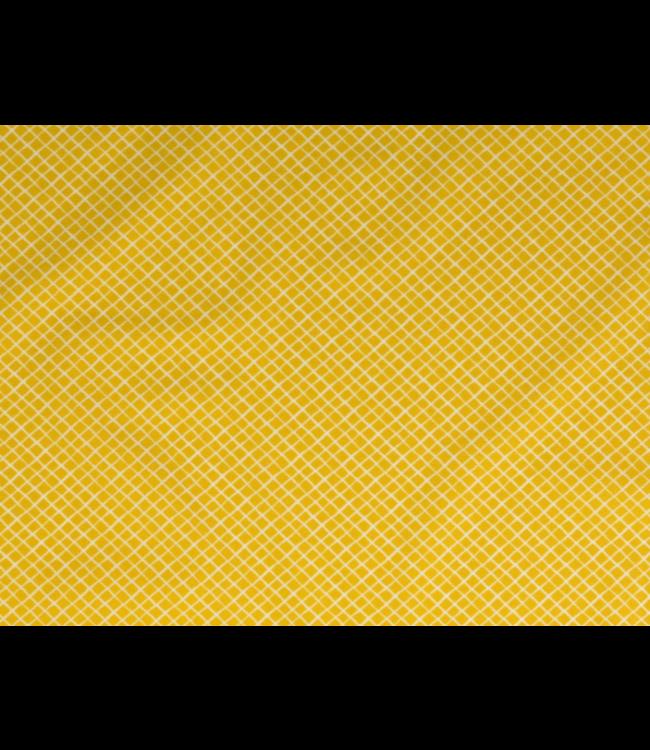 Mini vierkant - geel