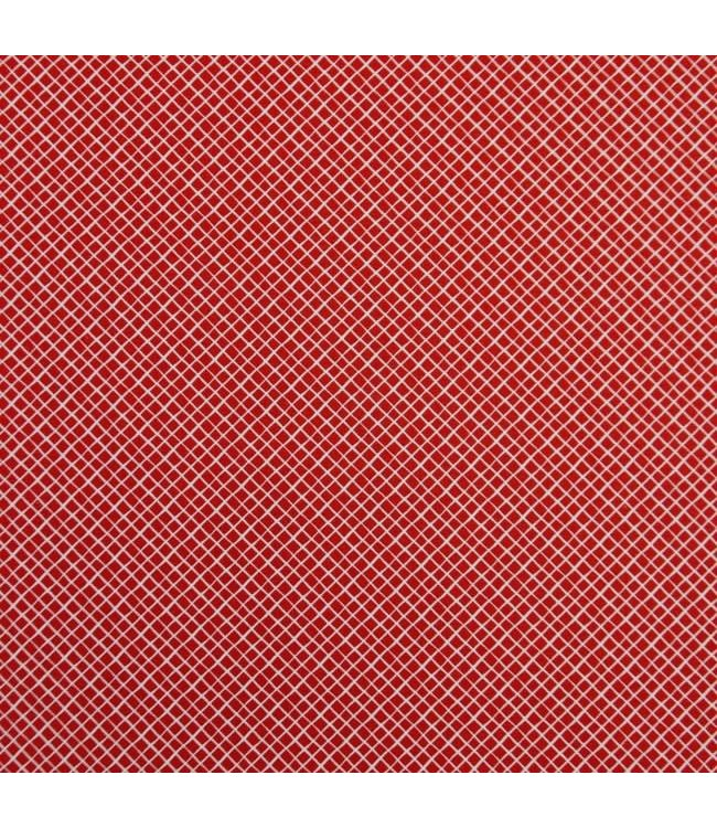 Mini vierkant - rood